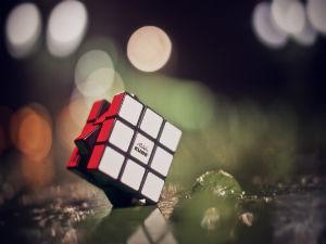 rubik cubo foto di enkhatuvshin